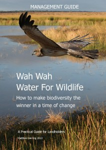 Wah Wah Water for Wildlife Management Guide FRONT COVER